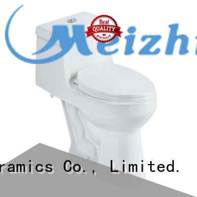 Meizhi new design one piece elongated toilet directly sale for washroom