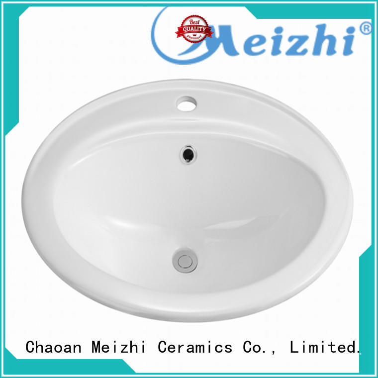 Meizhi high quality above counter sink wholesale for washroom