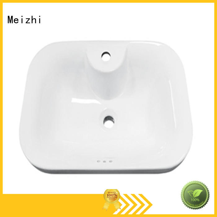 popular counter top wash hand basin wholesale for washroom Meizhi