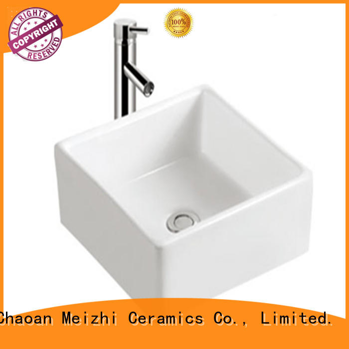 Meizhi printed cheap wash basin factory price for hotel
