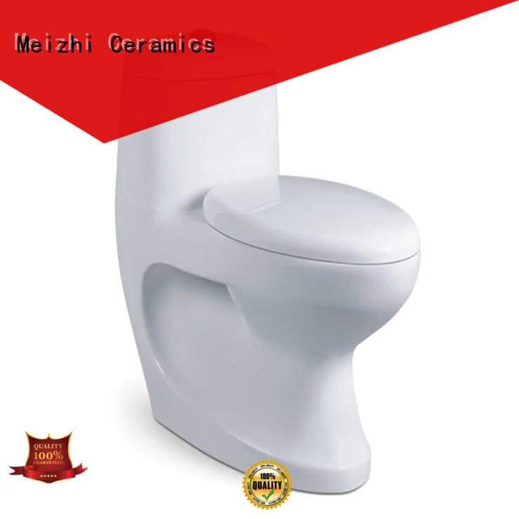 Meizhi modern one piece toilet manufacturer for washroom