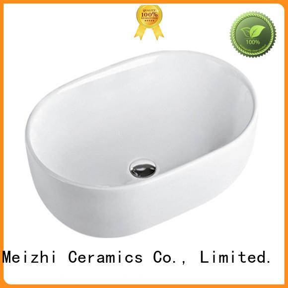 Meizhi stylish wash basin manufacturer for hotel