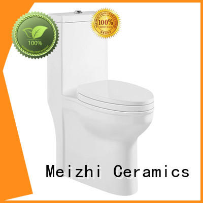Meizhi ceramic one piece toilet seat directly sale for hotel