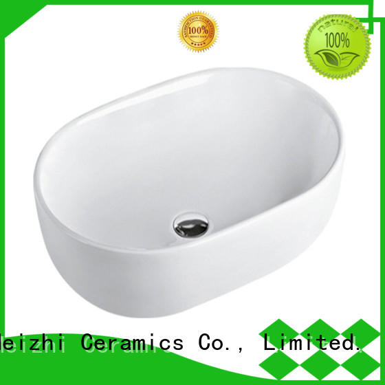 Meizhi printed wash basin size customized for home