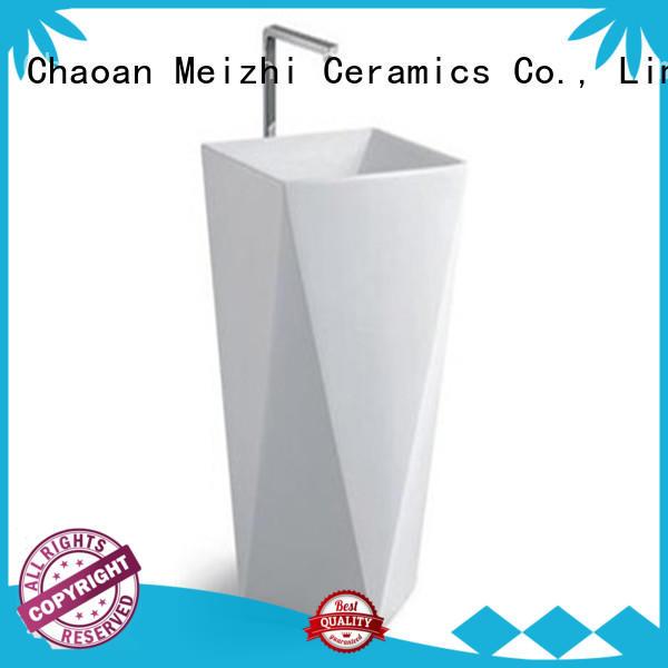 popular pedestal wash basin manufacturer for bathroom