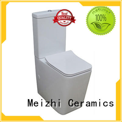 Meizhi 2 piece toilet customized for hotel