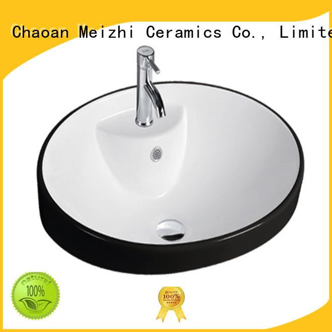 Meizhi cheap wash basin manufacturer for home
