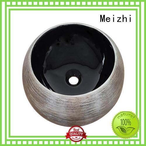 Meizhi basin black wholesale for hotel