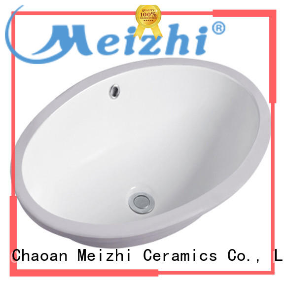 Meizhi popular countertop sink supplier for bathroom