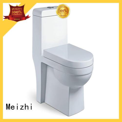 Meizhi single piece toilet customized for bathroom