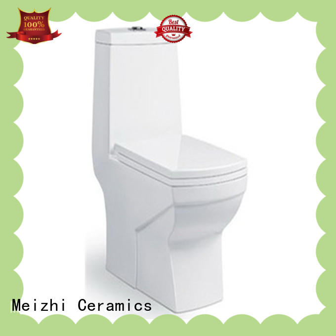Meizhi modern one piece toilet supplier for hotel
