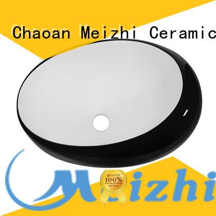 reliable black basin supplier for washroom