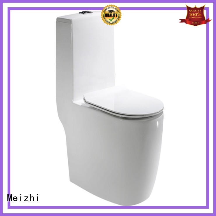 Meizhi siphonic round one piece toilet for bathroom