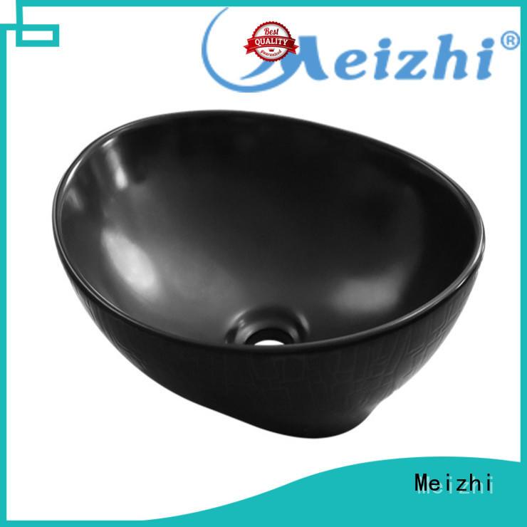 high quality black bathroom basin custom for washroom