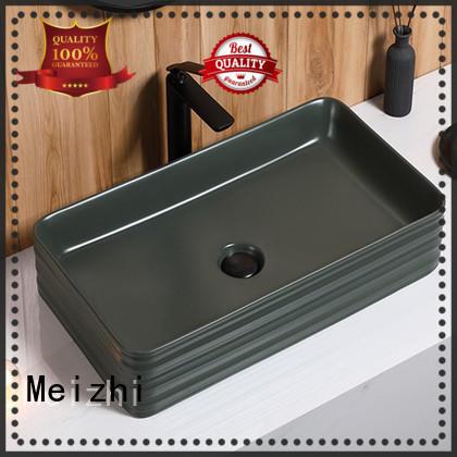 Meizhi high quality basin black supplier for washroom