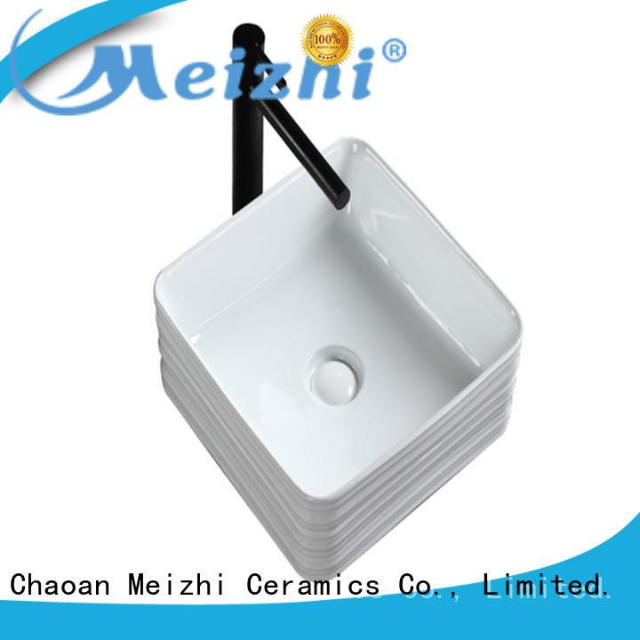 Meizhi modern design toilet basin customized for bathroom
