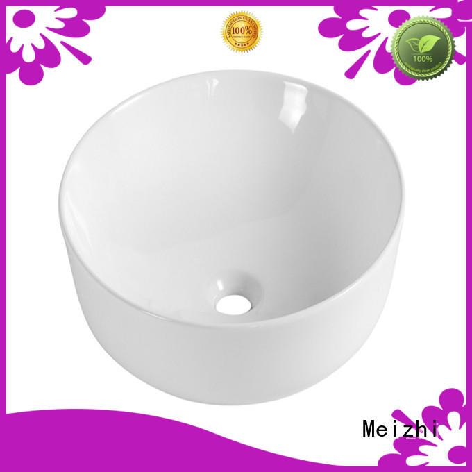 printed wash basin size customized for bathroom