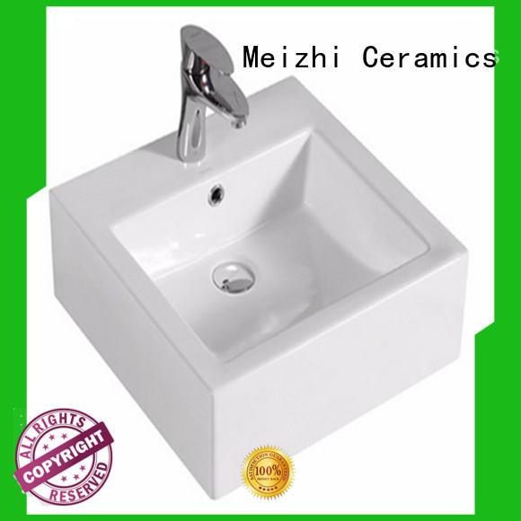Meizhi cheap wash basin manufacturer for bathroom