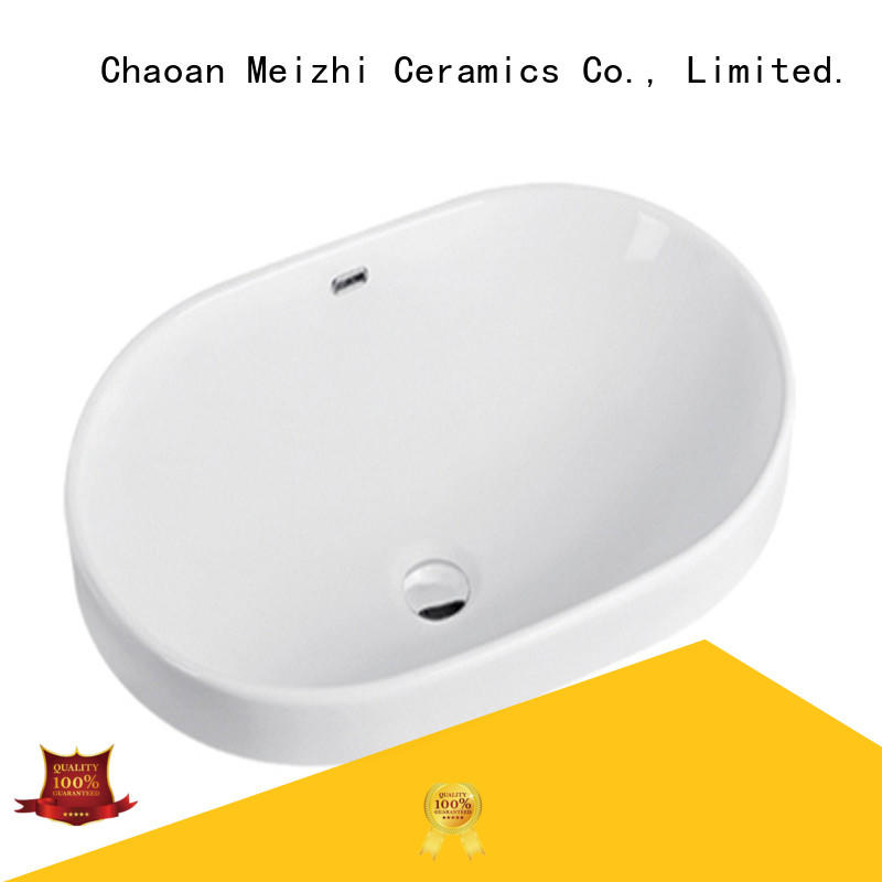 Meizhi above counter sink wholesale for bathroom