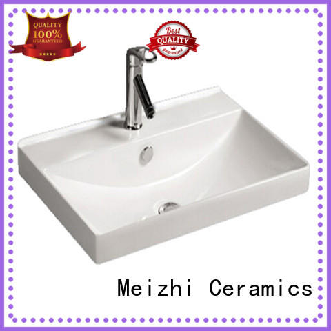 Meizhi small wash basin wholesale for hotel