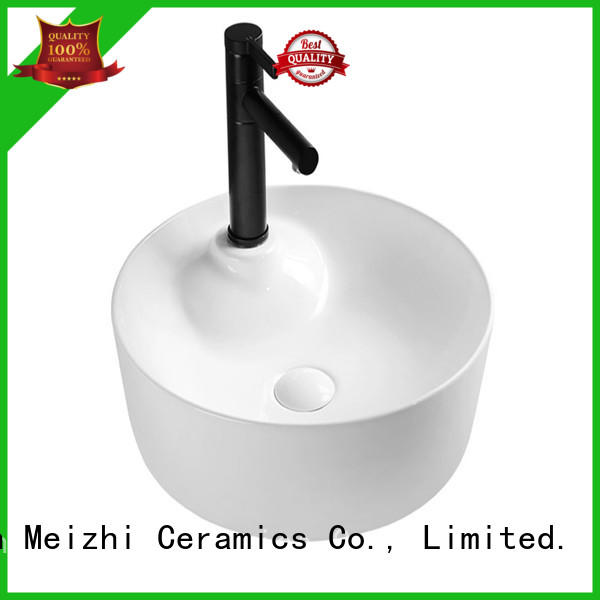 Meizhi ceramic wash basin models directly sale for hotel