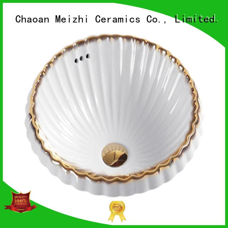 Meizhi ceramic stylish wash basin directly sale for hotel