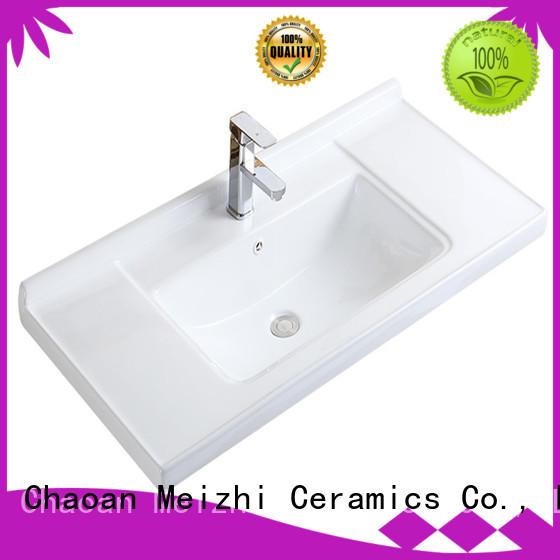 Meizhi ceramic wash basin sink wholesale for hotel