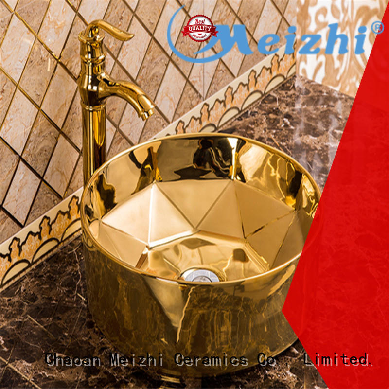 Meizhi hot selling round wash basin customized for hotel