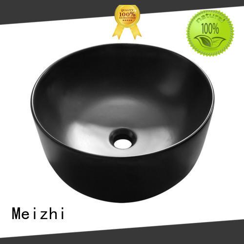 Meizhi black sink basin manufacturer for cabinet
