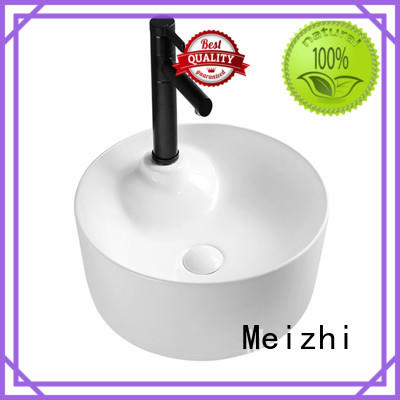 Meizhi printed sanitary basin for hotel