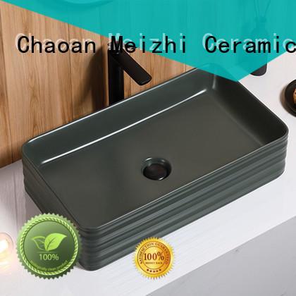 Meizhi high quality black sink basin manufacturer for hotel