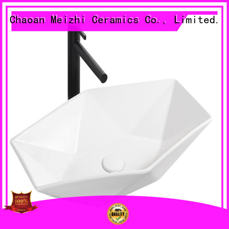 Meizhi modern design wash basin models factory price for bathroom