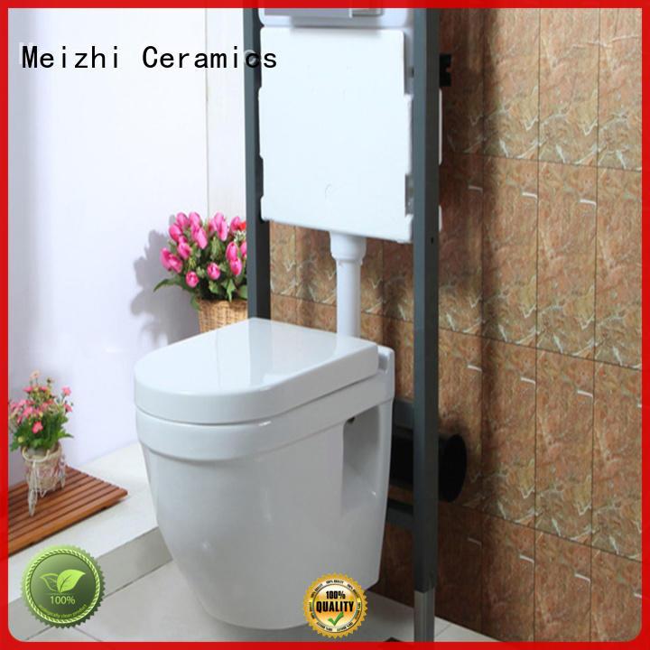 Meizhi high quality suspended toilet manufacturer for washroom