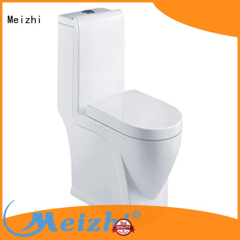 Meizhi modern one piece round toilet wholesale for washroom