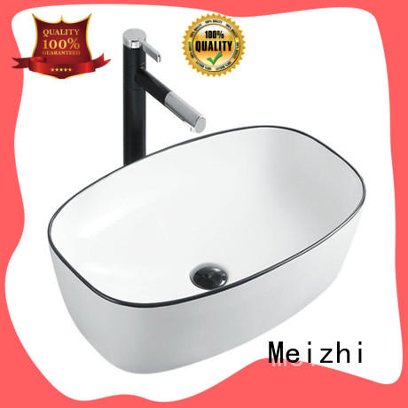 Meizhi black basin factory price for cabinet