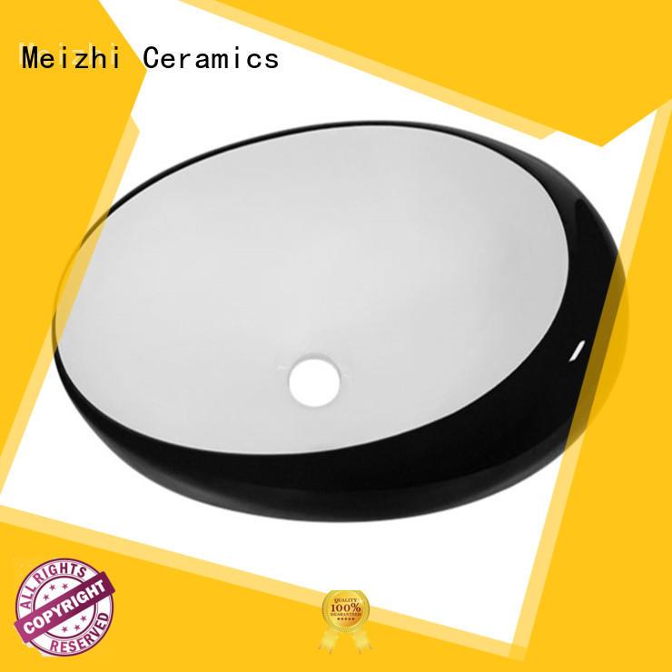 Meizhi ceramic basin black manufacturer for bathroom