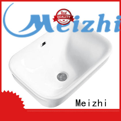 Meizhi high quality above counter sink directly sale for home