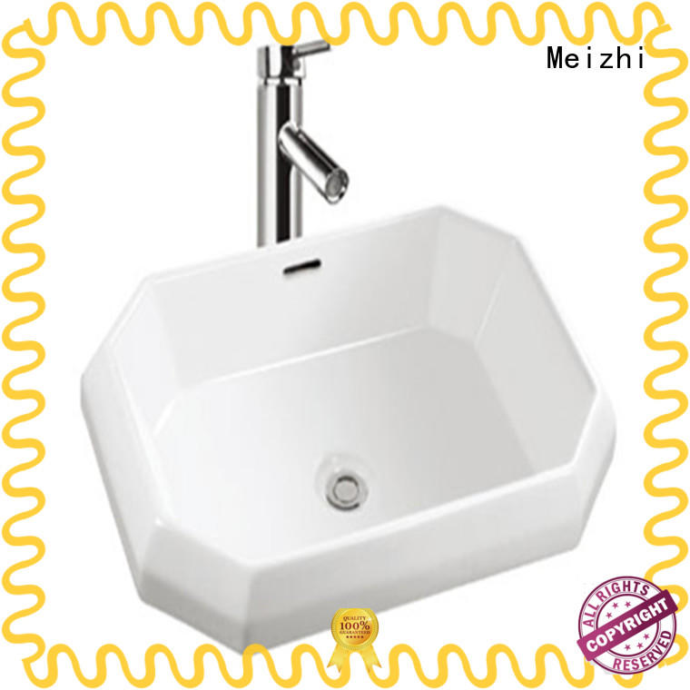 Meizhi fancy cheap wash basin factory price for bathroom