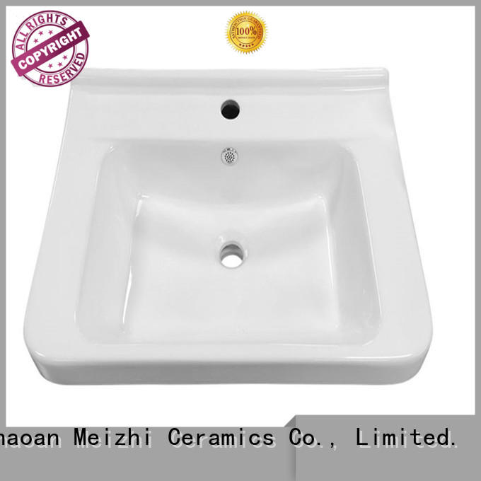 Meizhi contemporary vanity basin directly sale for hotel
