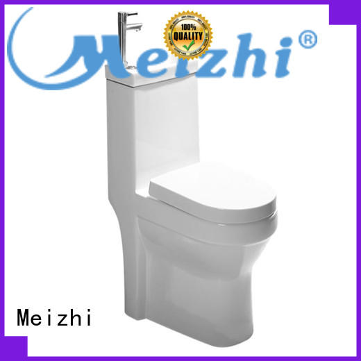 Meizhi american standard one piece toilet manufacturer for washroom