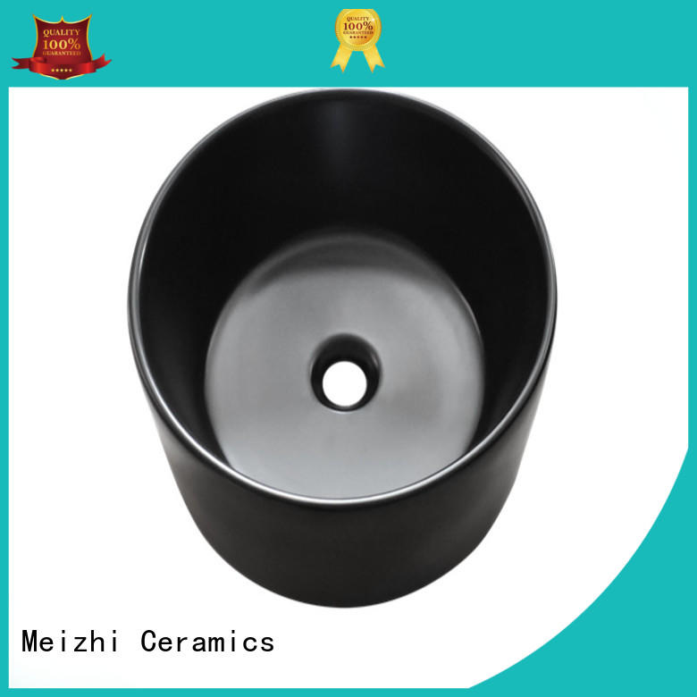 Meizhi black bathroom sink supplier for bathroom
