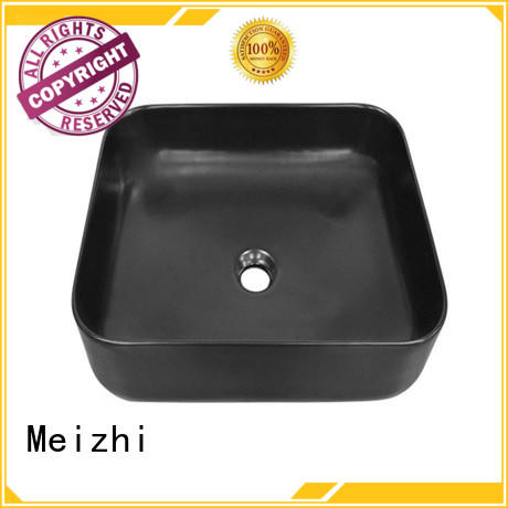 Meizhi creative basin black factory price for bathroom