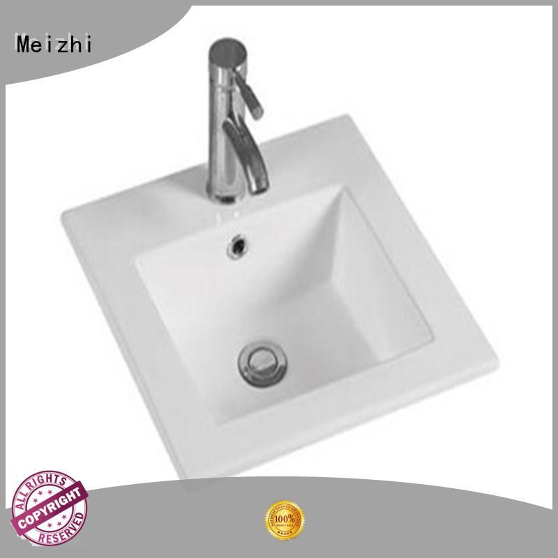 Meizhi vanity wash basin wholesale for washroom