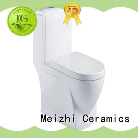 square one piece round toilet directly sale for bathroom