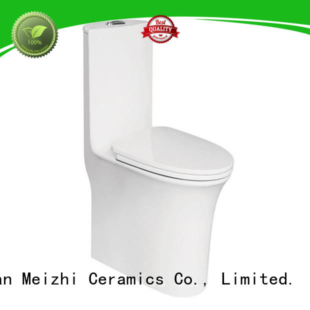 Meizhi new design cheap one piece toilet for hotel