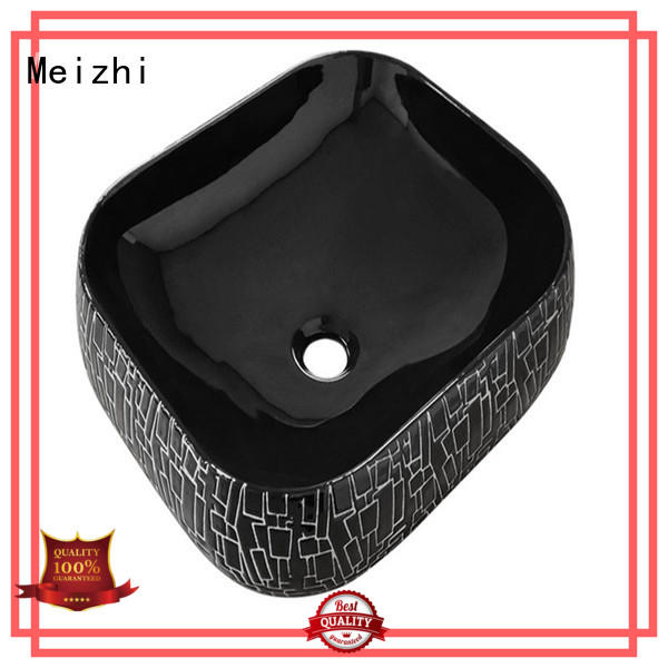 Meizhi modern basin black factory price for cabinet