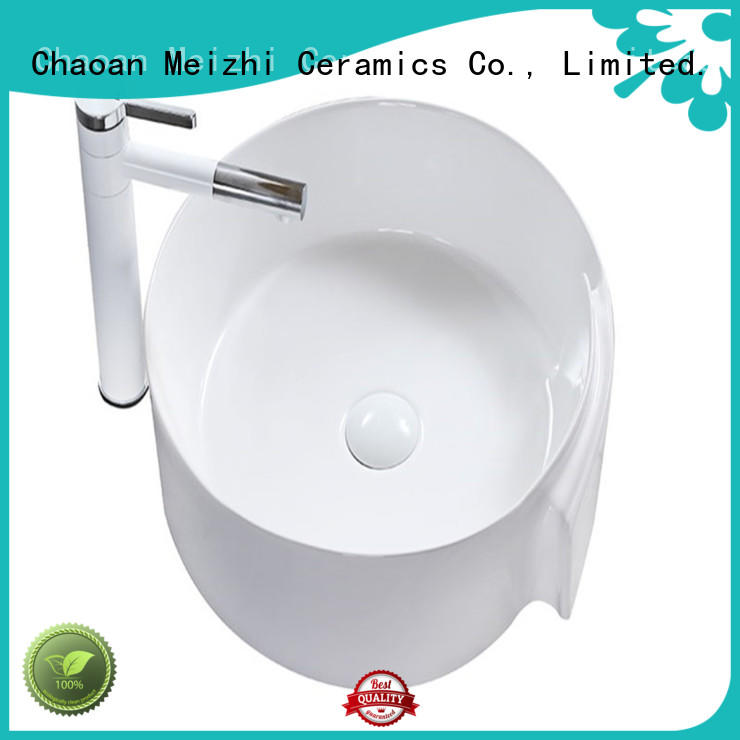 Meizhi wash basin size supplier for hotel