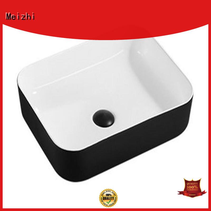 Meizhi basin black factory for washroom