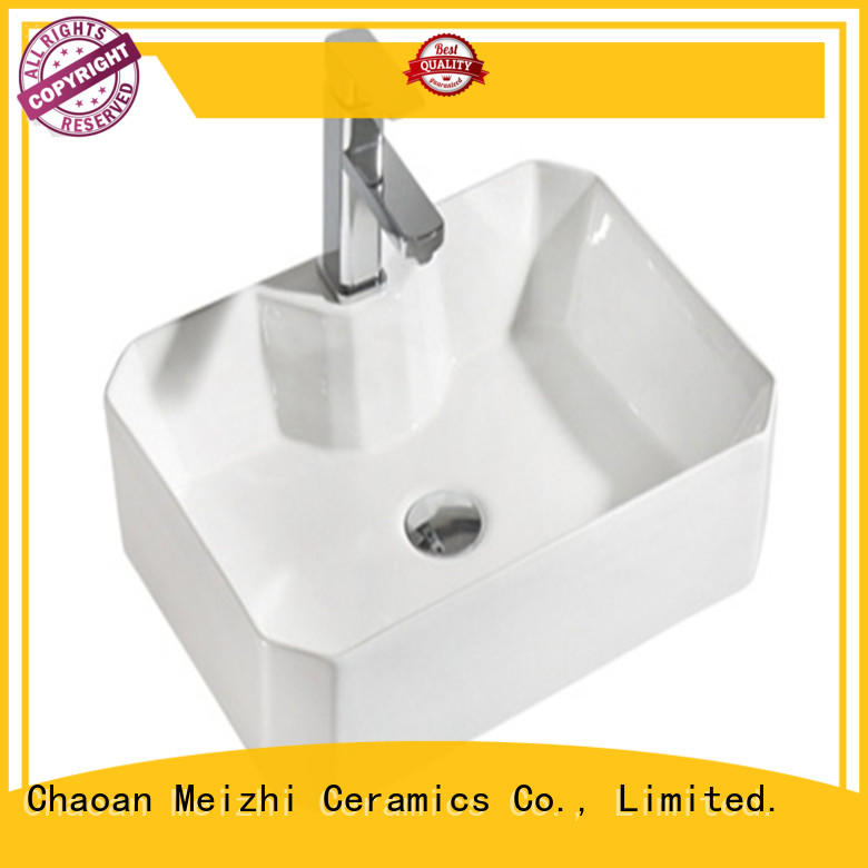 Meizhi elegant wash basin models factory price for bathroom