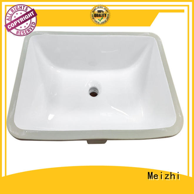 Meizhi high quality table top wash basin supplier for washroom